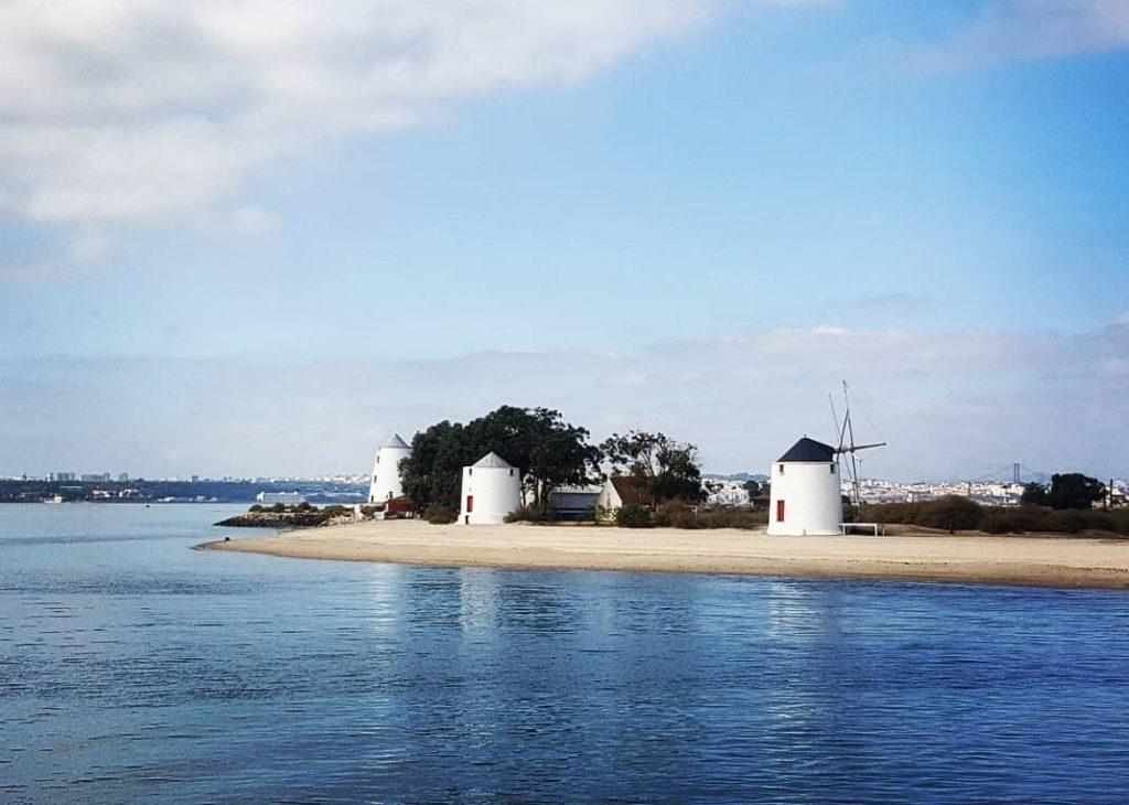 Praia fluvial de moinhos